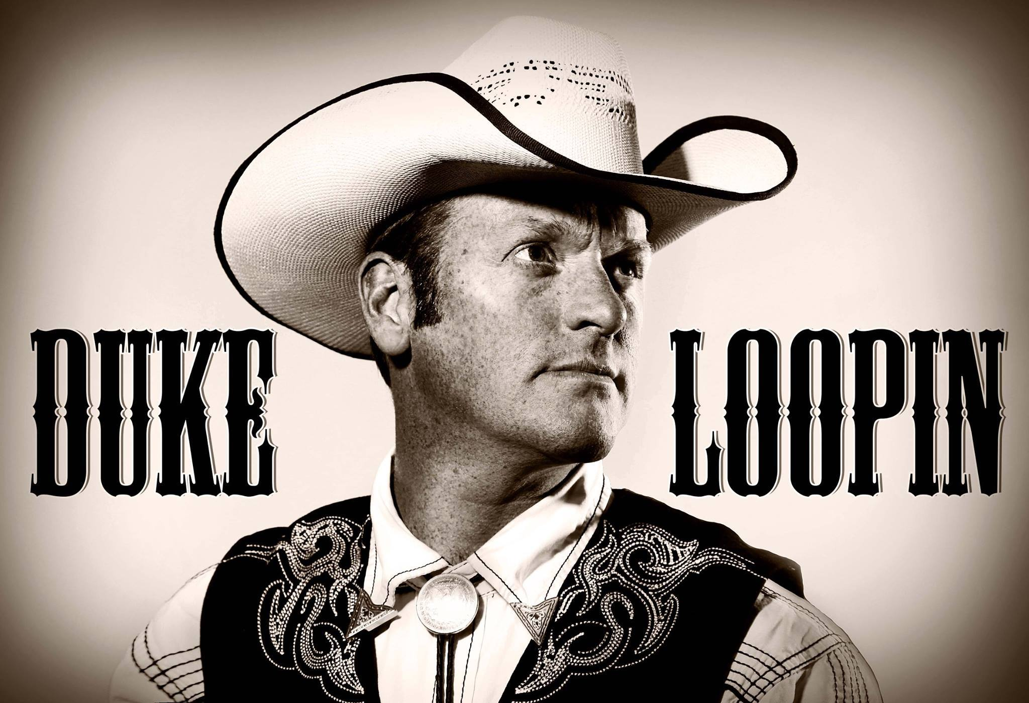 Portrait des Cowboy Duke Loopin